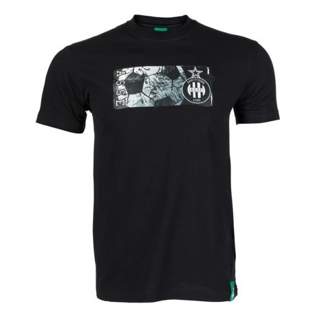 Tee-Shirt junior ASSE logo noir