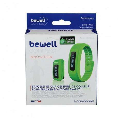 Bracelet vert ASSE pour MyCoach Bewell Connect