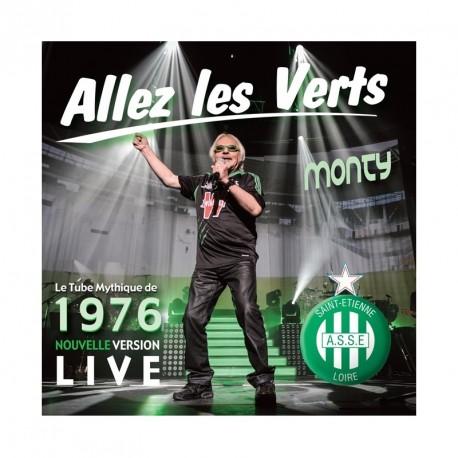 CD Allez les verts - Monty Live