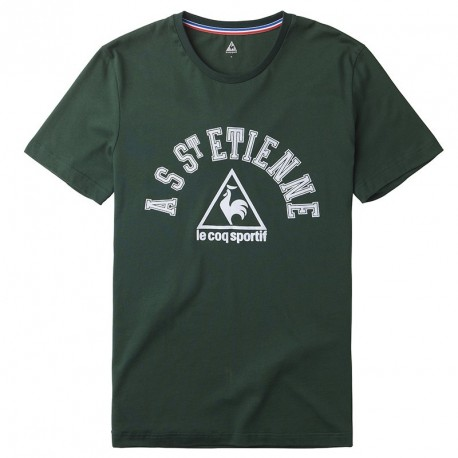 Tee-Shirt ASSE Goitou Le Coq Sportif vert foncé