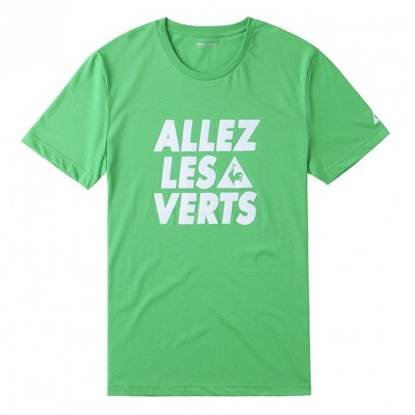 Tee-shirt ASSE Le Coq Sportif Allez les verts - Vert