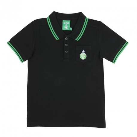 Polo junior ASSE noir