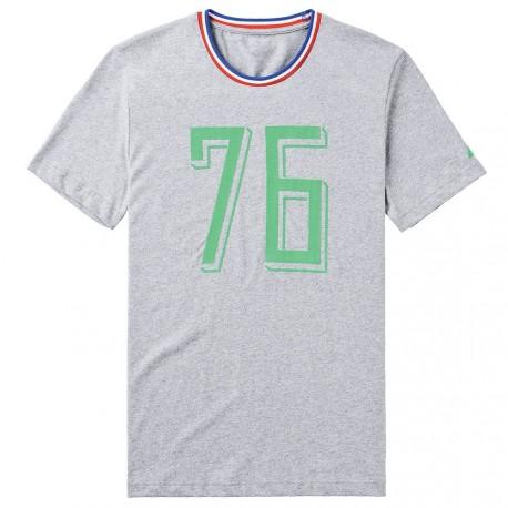 Tee-Shirt ASSE Le Coq Sportif 1976 gris