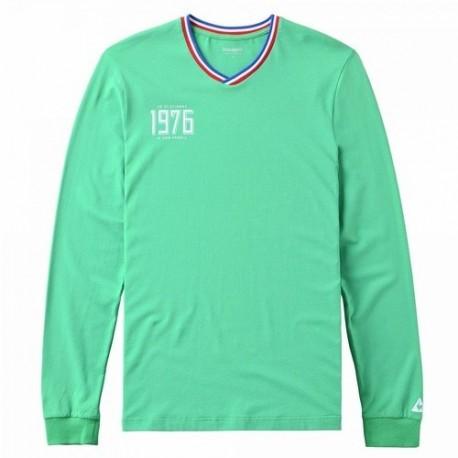 Tee-Shirt Manches Longues ASSE Le Coq Sportif 1976 vert