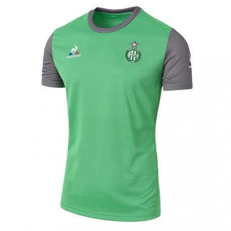 Tee-shirt entraînement enfant vert ASSE Le Coq Sportif 2016 - 2017