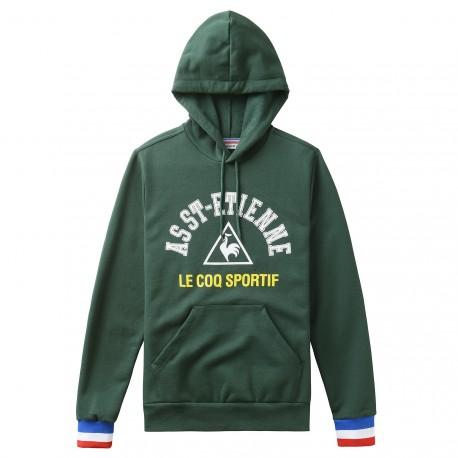 Sweat capuche vert ASSE Le Coq Sportif 2016-2017