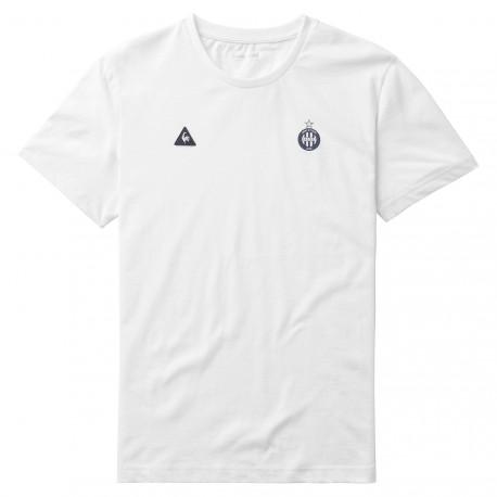 Tee-shirt présentation ASSE Le coq Sportif blanc 2016 - 2017