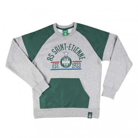 Sweat fan ASSE Gris
