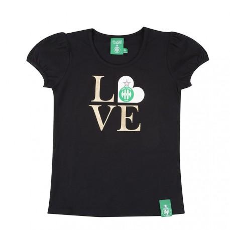 Tee-shirt femme I Love ASSE noir