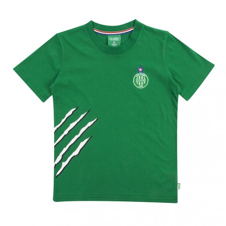 Tee-shirt ASSE enfant griffe vert 17/18