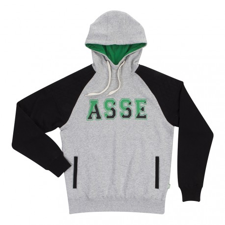 SWEAT ASSE CAPUCHE GRIS 17/18