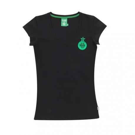 Tee-shirt ASSE Femme FOIL Noir 17/18