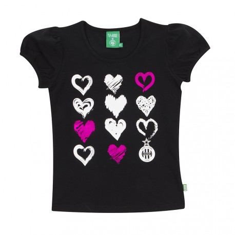 Tee-shirt ASSE girl Noir 17/18