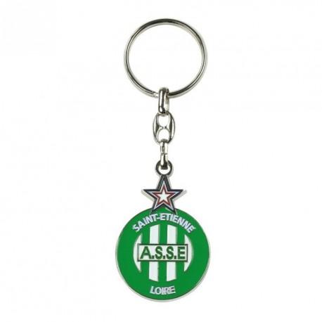 Porte-clés ASSE Logo Metal multicolore